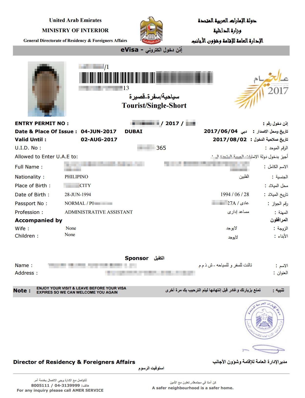 30-days-allowed-in-dubai-visa-sample