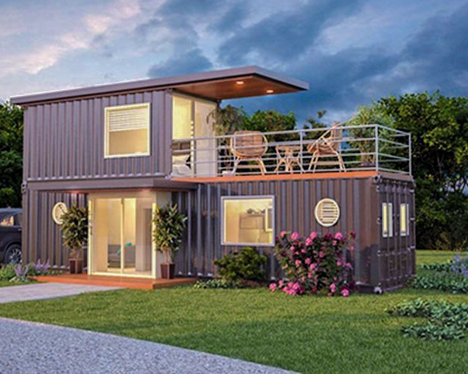 Living In A Shipping Container House In The Philippines Is
